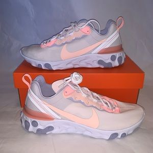Nike react element 55 pink coral Size 9.5